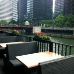 Outdoor patio section